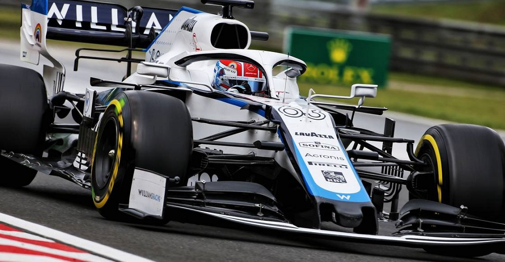 George Russell (GBR) Williams Racing FW43. Hungarian Grand Prix, Saturday 18th July 2020. Budapest, Hungary.