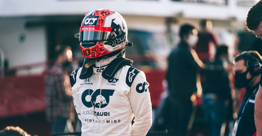 Pierre Gasly is seen during Project Istanbulls in Istanbul, Turkey on November 10, 2020 // Nuri Yilmazer/Red Bull Content Pool // SI202011100041 // Usage for editorial use only //
