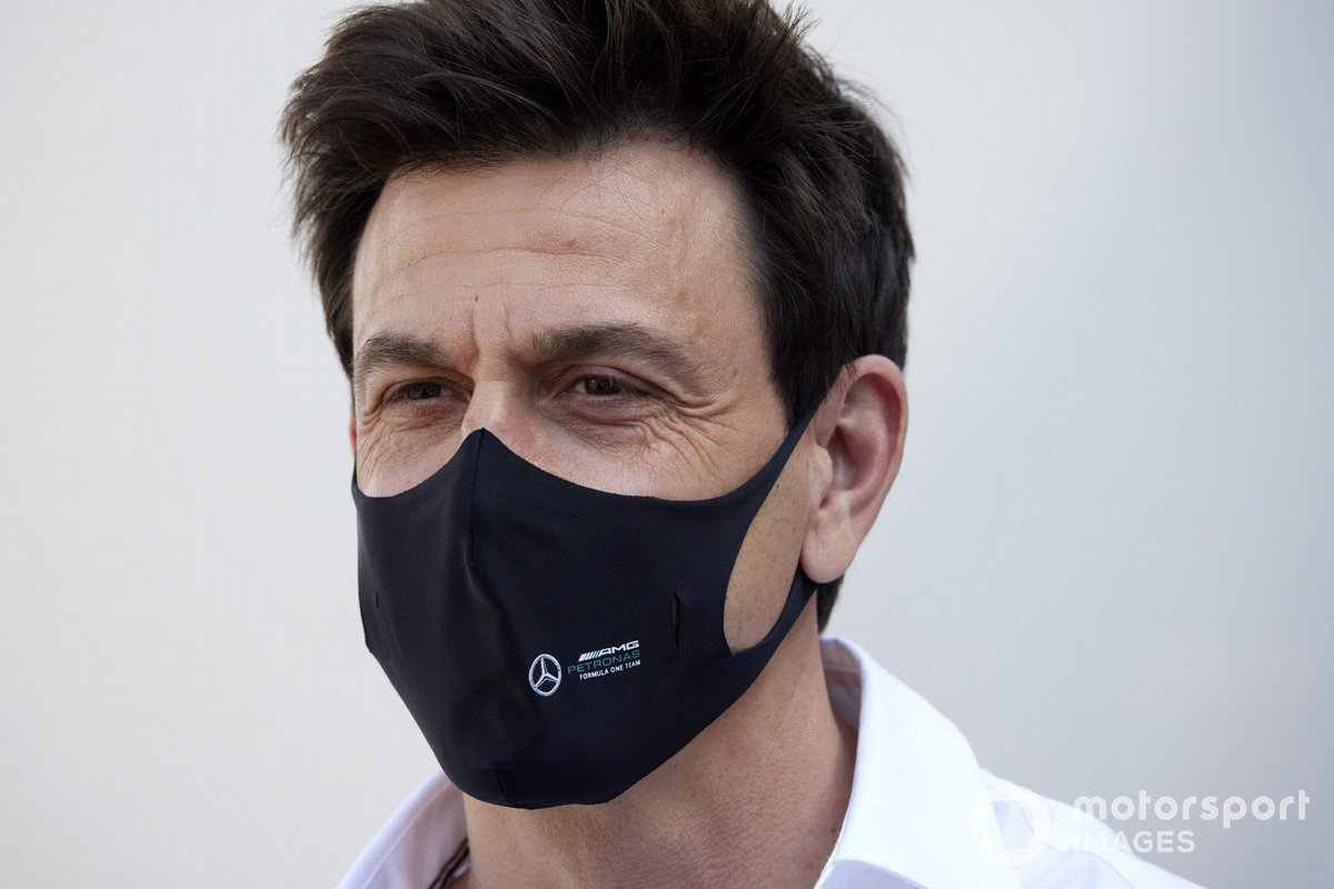 Toto Wolff, Team Principal and CEO, Mercedes AMG