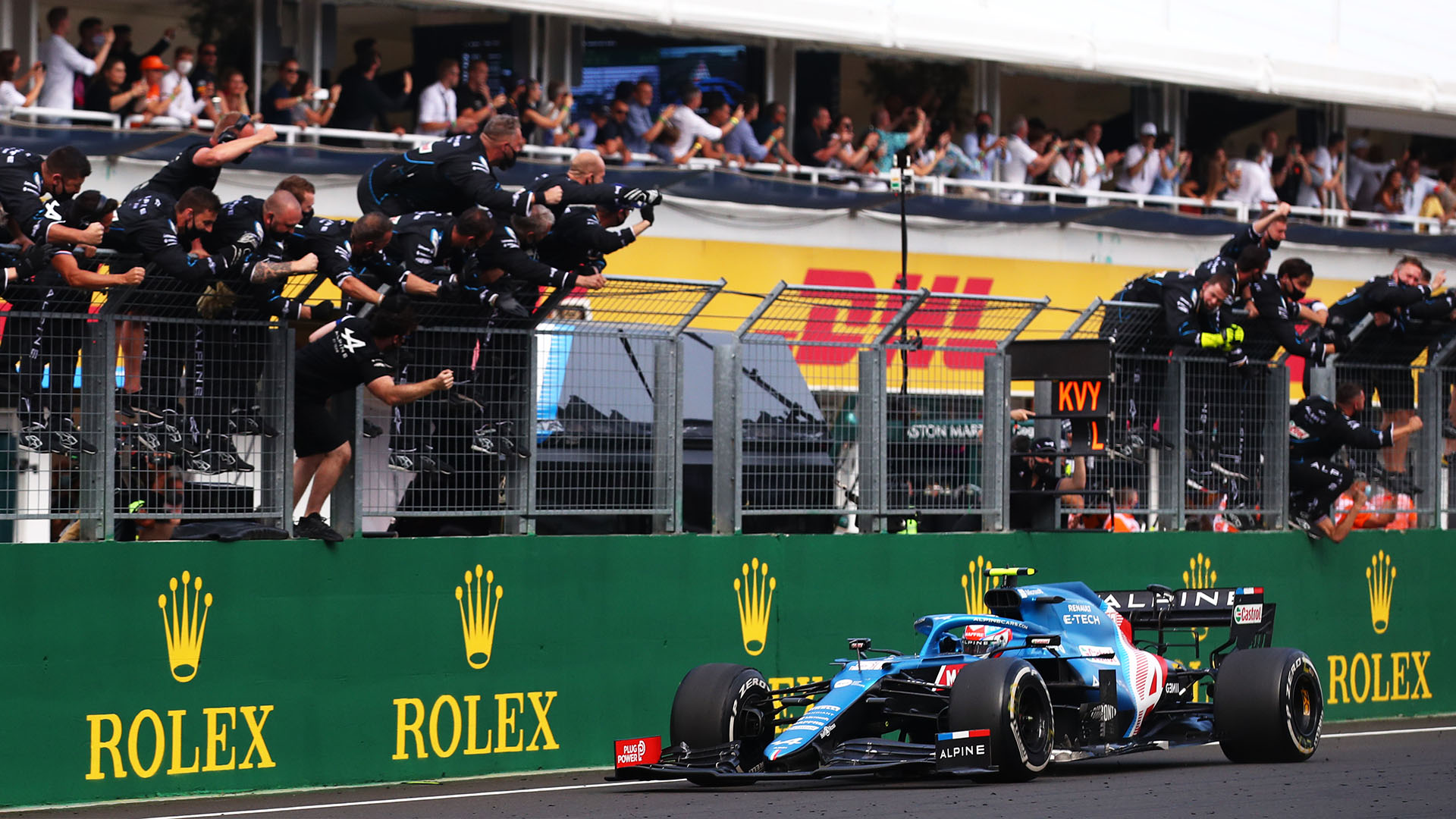 Ocon beats Vettel to claim shock maiden victory in action-packed Hungarian Grand Prix