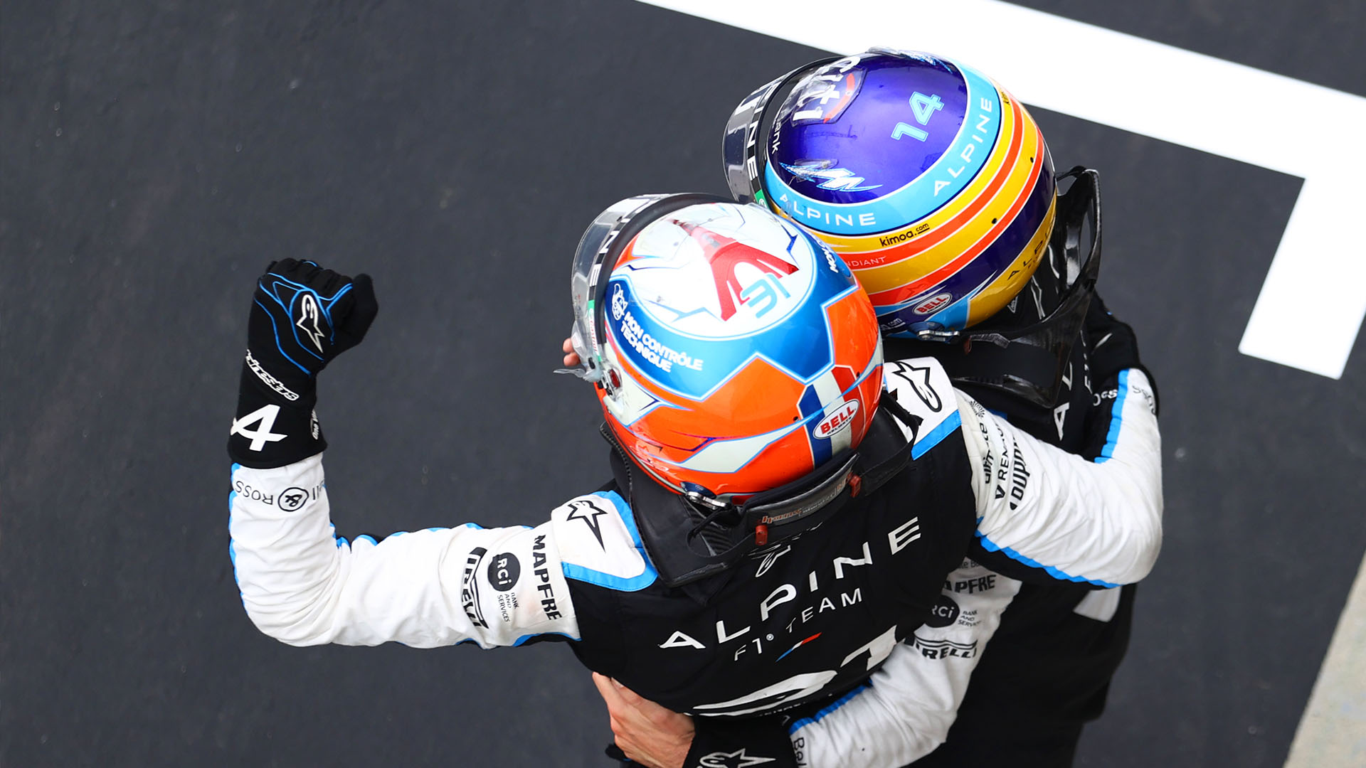 'A day he'll never forget' – Alonso lauds team mate Ocon, 18 years after own maiden win in Budapest