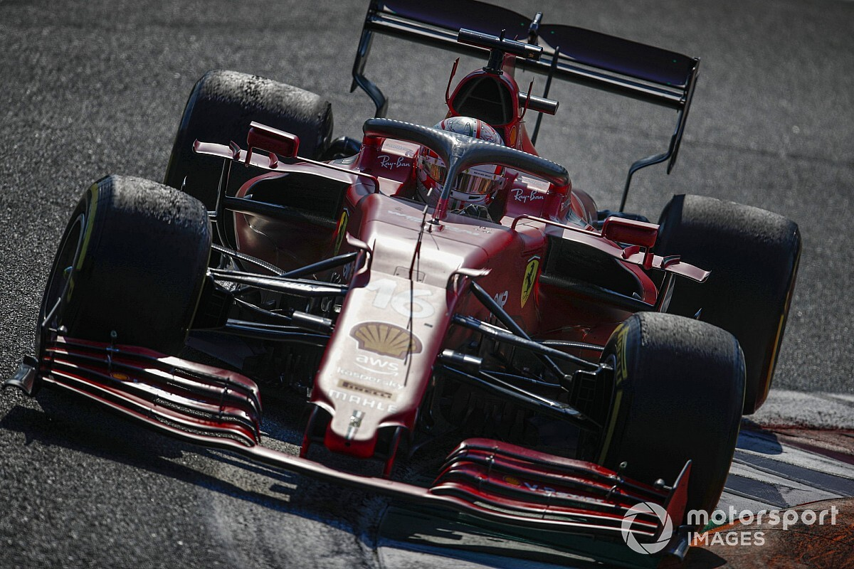 """Read more about the article Leclerc not expecting """"big changes"""" from Ferrari F1 power unit upgrade"""
