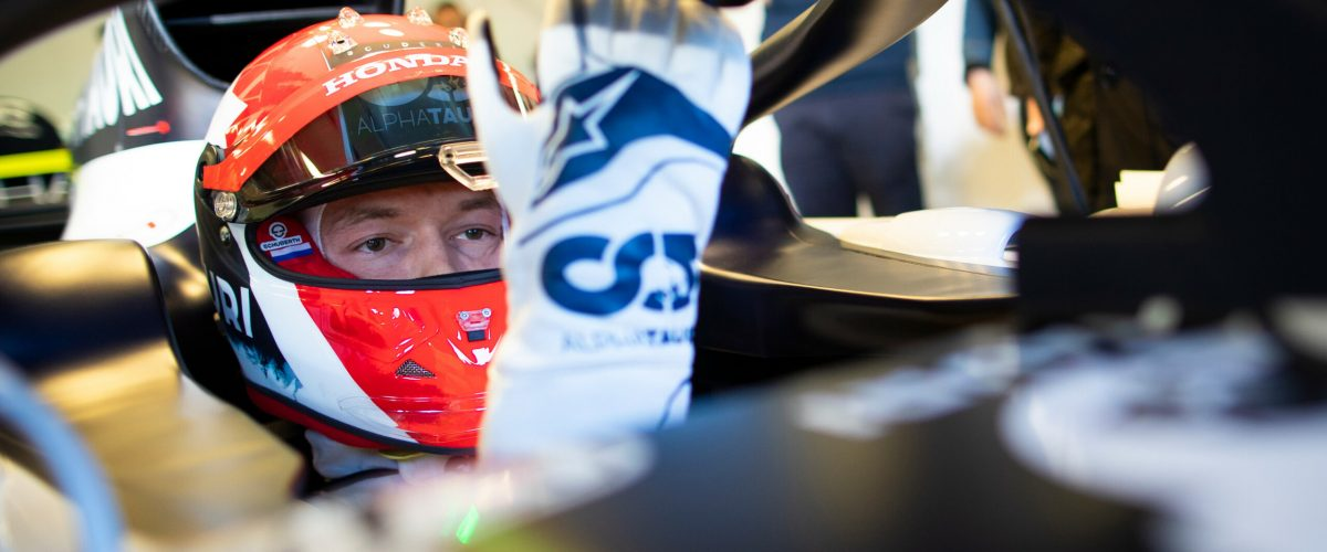 Daniil Kvyat of Russia and Scuderia AlphaTauri prepares for a drive during the filming day in Misano, Italy on February 15, 2020 // Samo Vidic/Red Bull Content Pool // SI202002150299 // Usage for editorial use only //